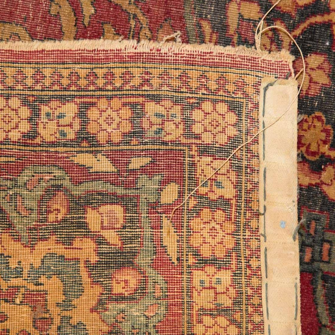 Antique Ispahan rug, approx. 4.7 x 7.2 - 3
