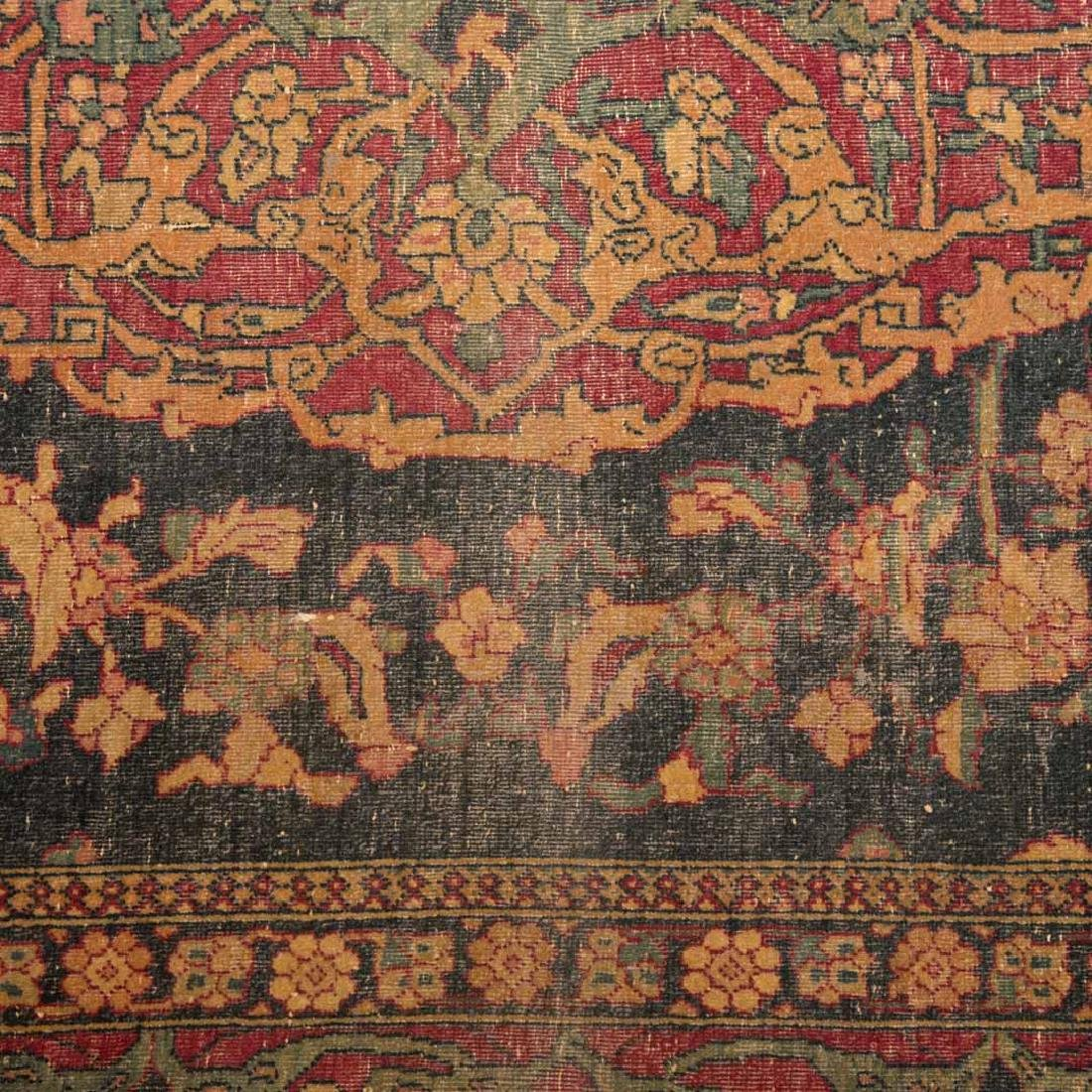 Antique Ispahan rug, approx. 4.7 x 7.2 - 4