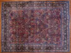 Antique Lavar Kerman carpet approx 115 x 15