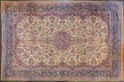 Antique Lavar Kerman carpet approx 1210 x 1910