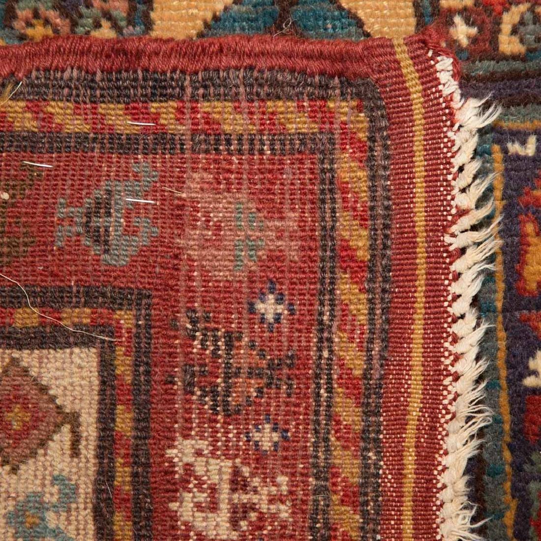 Antique Kazak rug, approx. 3.4 x 8.4 - 3