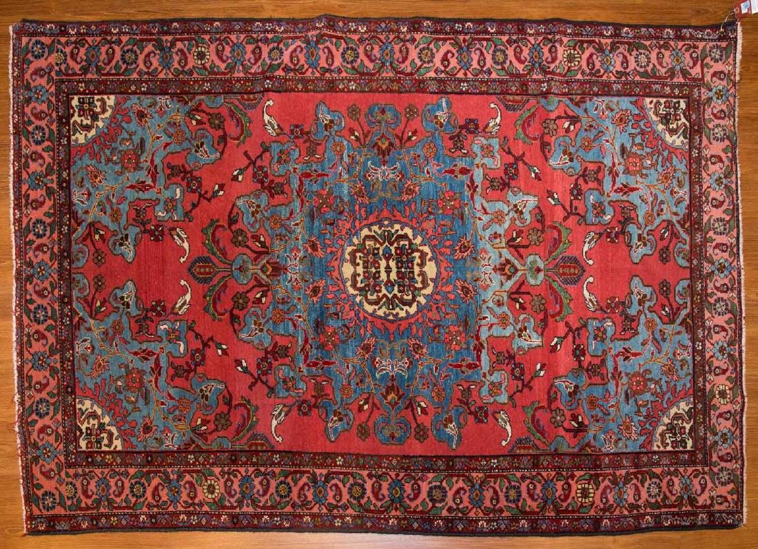 Antique Malayer rug, approx. 4.5 x 6.3