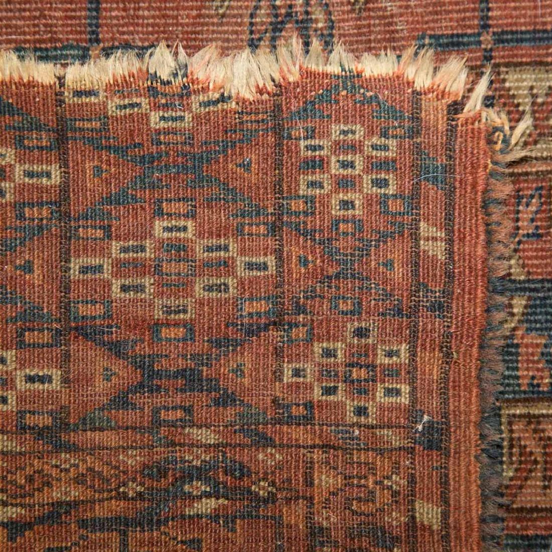Two antique Turkemon rugs, Turkestan, circa 1920 - 3
