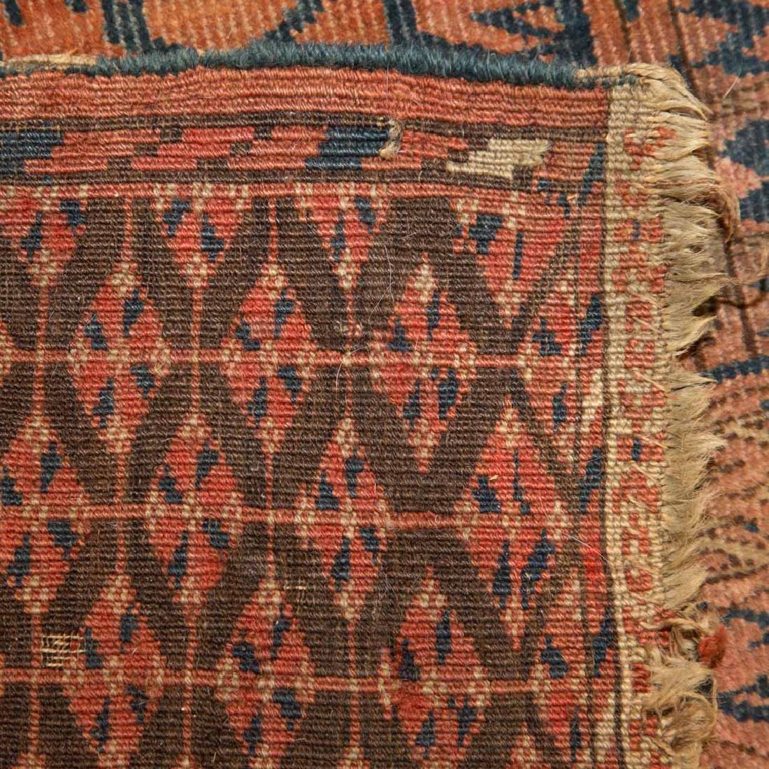 Two antique Turkemon rugs, Turkestan, circa 1920 - 5