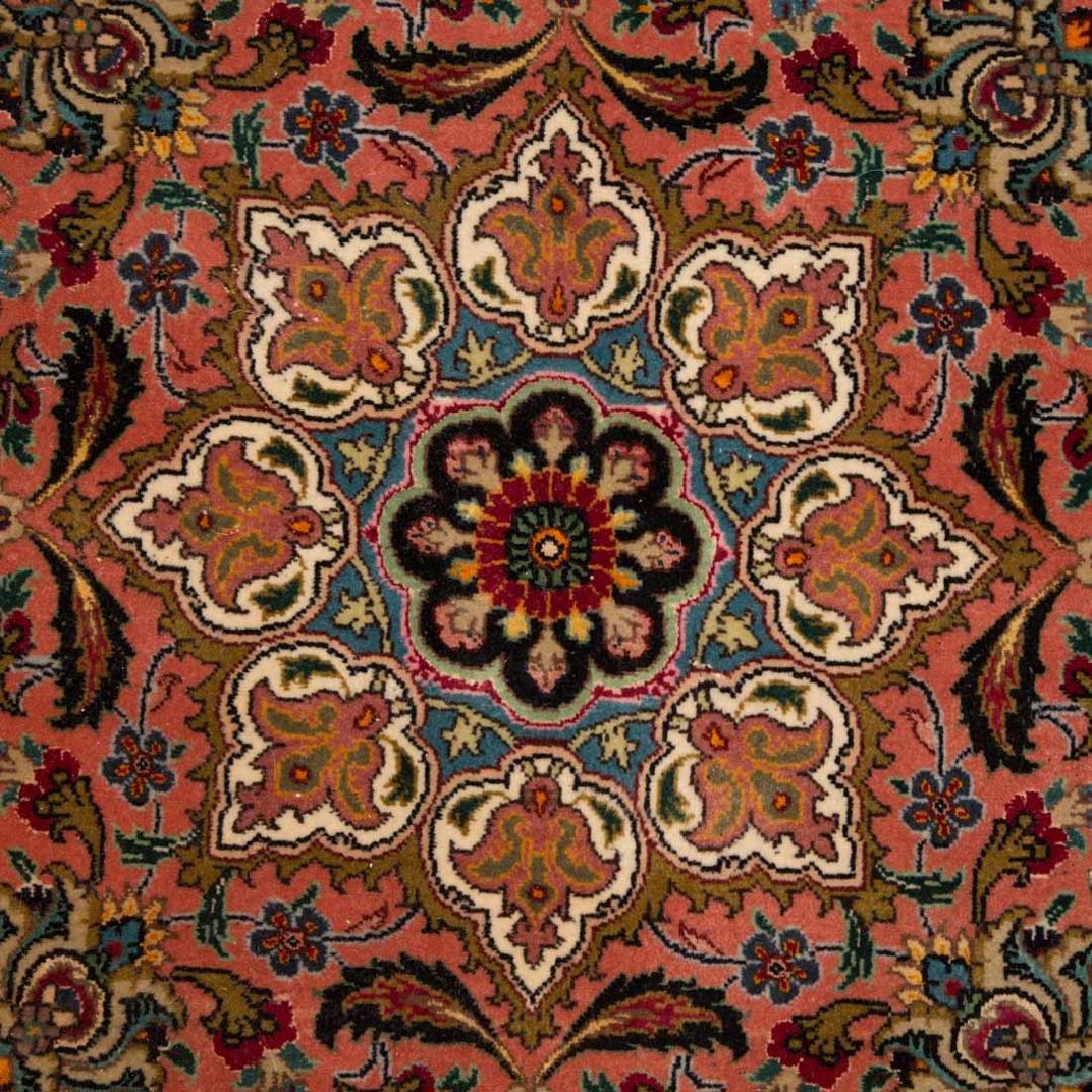 Fine Persian Tabriz carpet, approx. 11.4 x 16.4 - 4