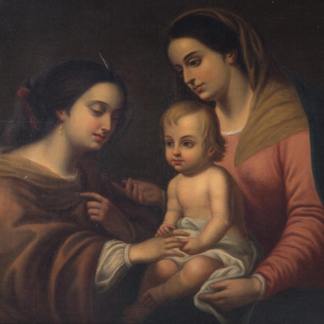 After Murillo. Mystic Marriage of St. Catherine - 2