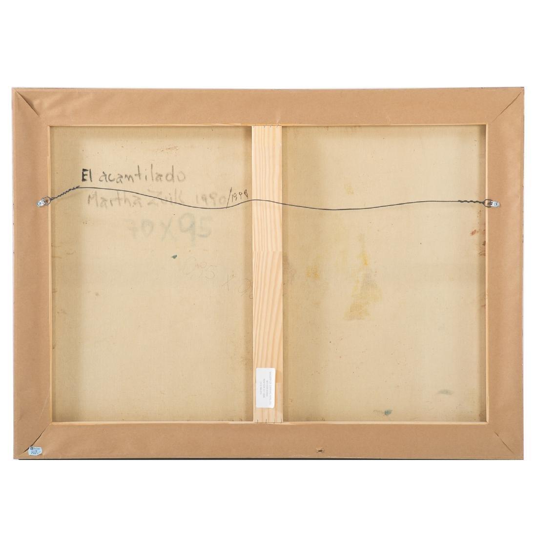 """Martha Zuick. """"El acantilado,"""" oil on canvas - 3"""