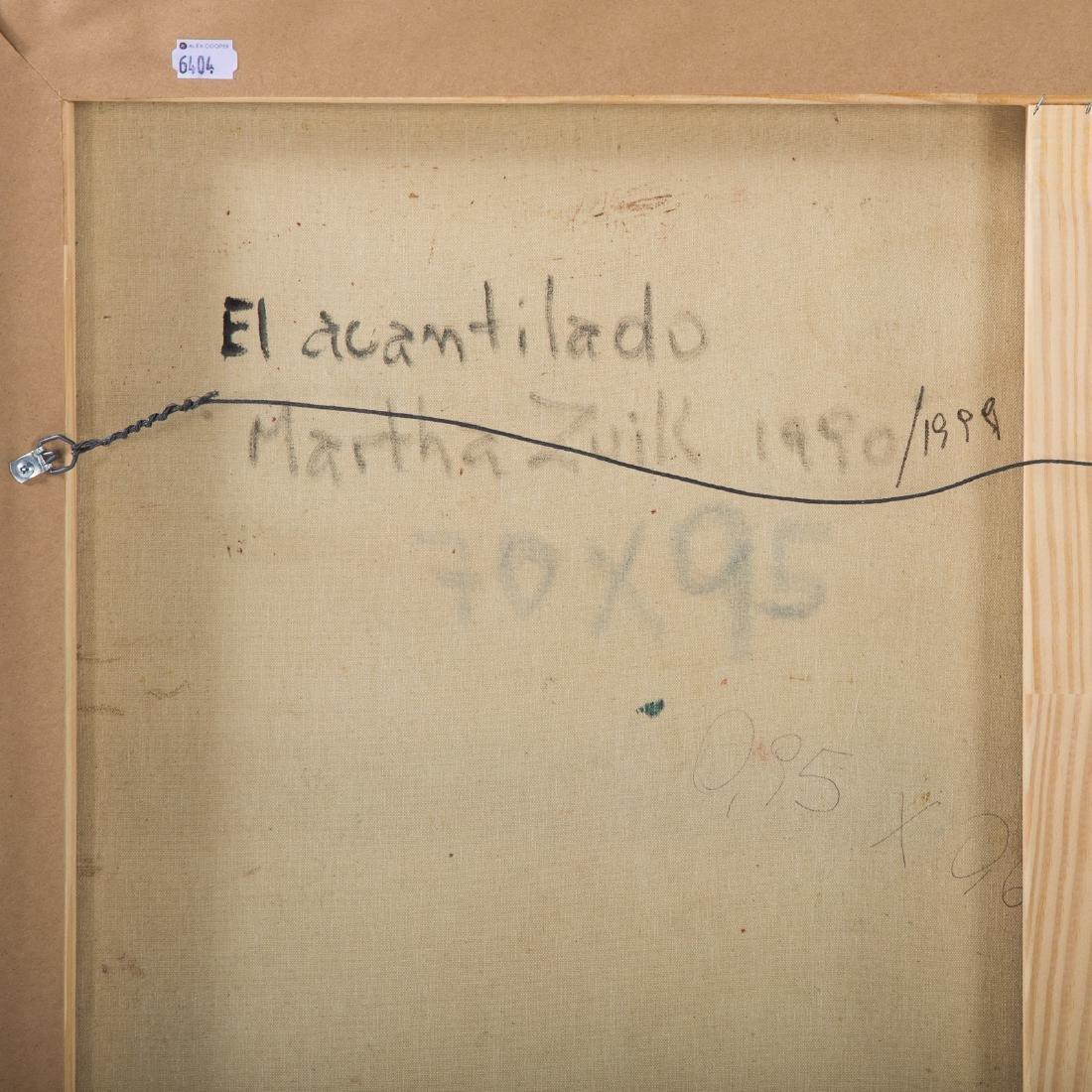"""Martha Zuick. """"El acantilado,"""" oil on canvas - 4"""