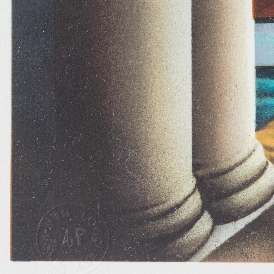 "Ferjo. ""Third Dimension,"" lithograph - 4"