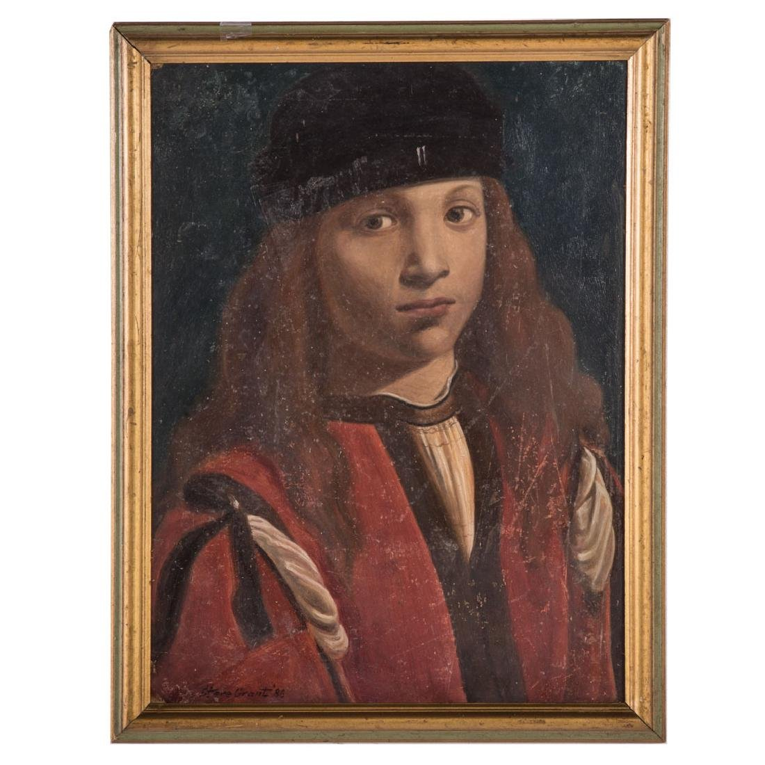 After G.A. Boltraffio. Portrait of a Youth, oil
