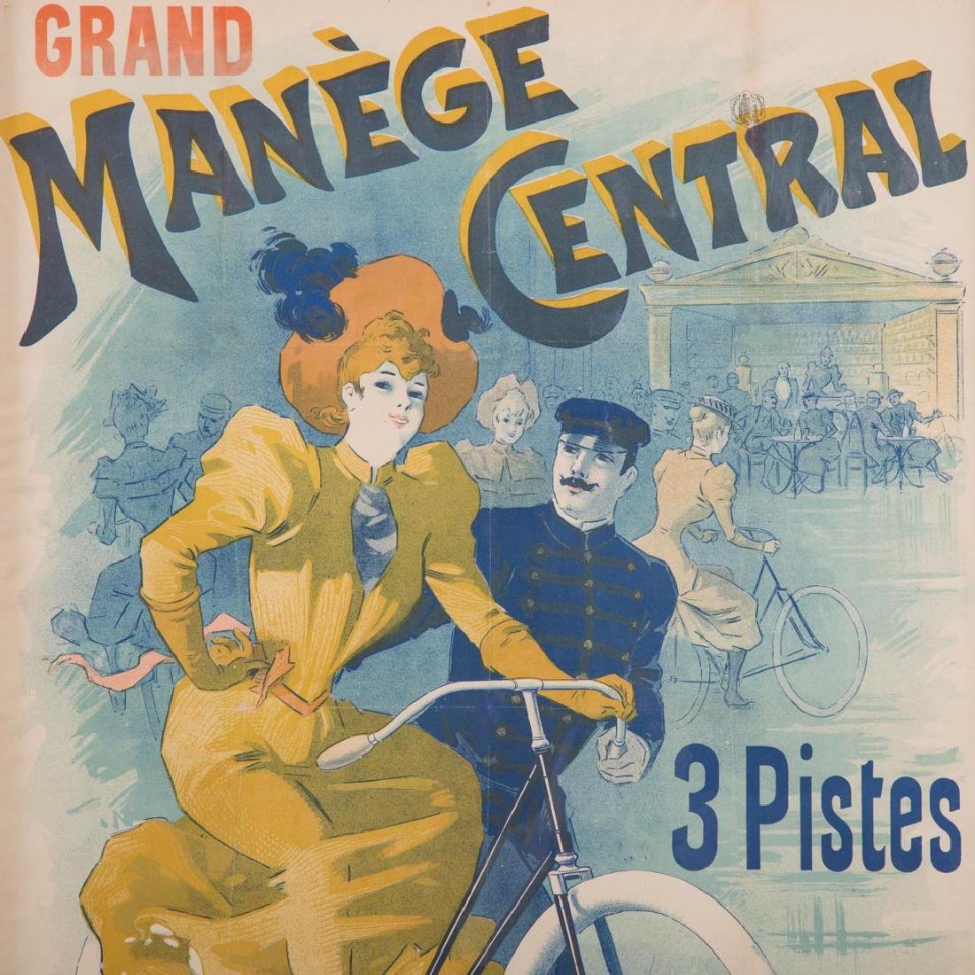 """Lucien Baylac. """"Grand Manege Central,"""" lithograph - 2"""