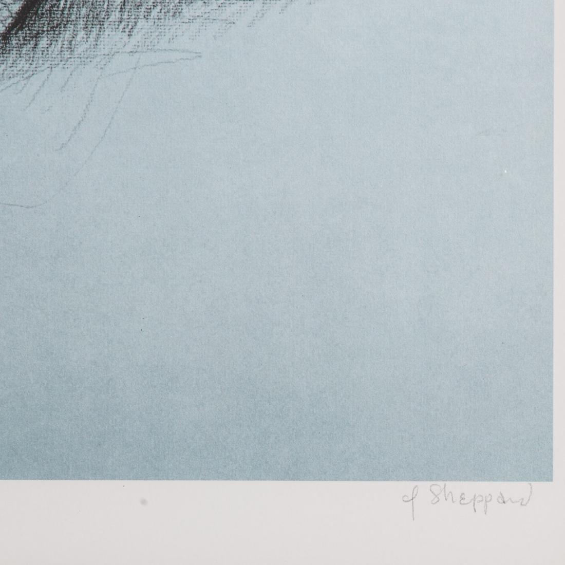 "Joseph Sheppard. ""Seated Boy,"" offset lithograph - 3"