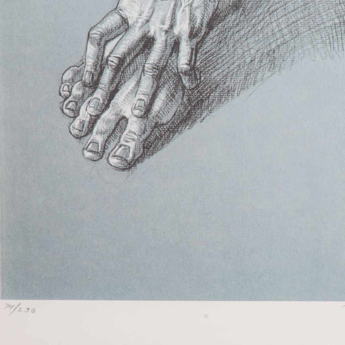 "Joseph Sheppard. ""Seated Boy,"" offset lithograph - 4"