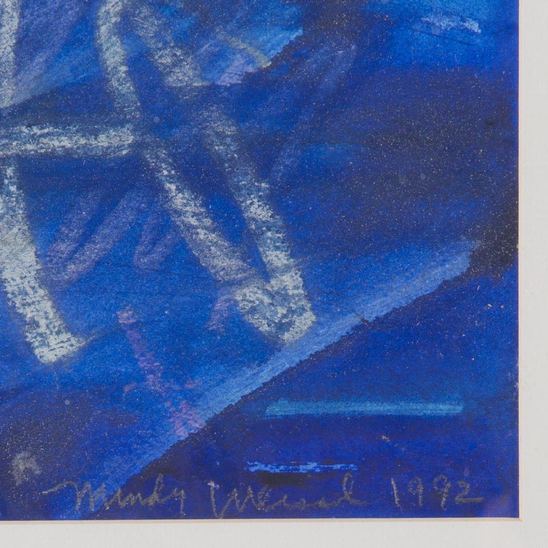 Mindy Weisel. Abstract, mixed media on paper - 4