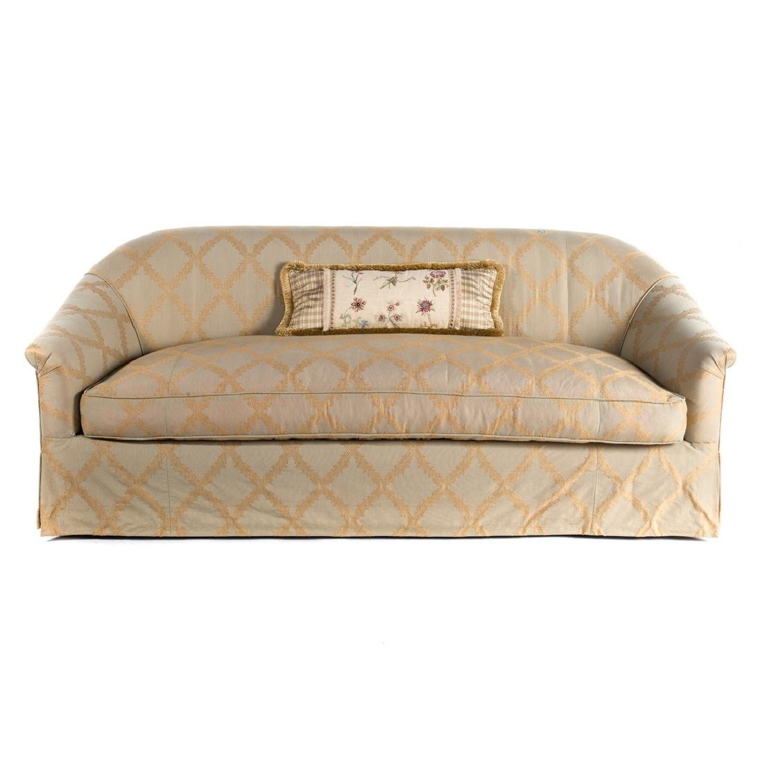 Pair R. Jones Contemporary upholstered sofas - 2