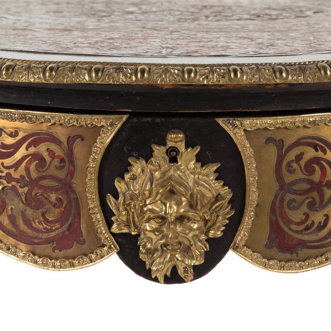 Napoleon III Louis XIV style Boulle table du salon - 4