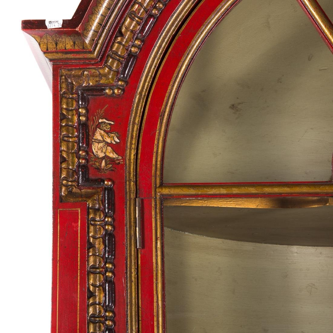 George I style Chinoiserie decorated cabinet - 3