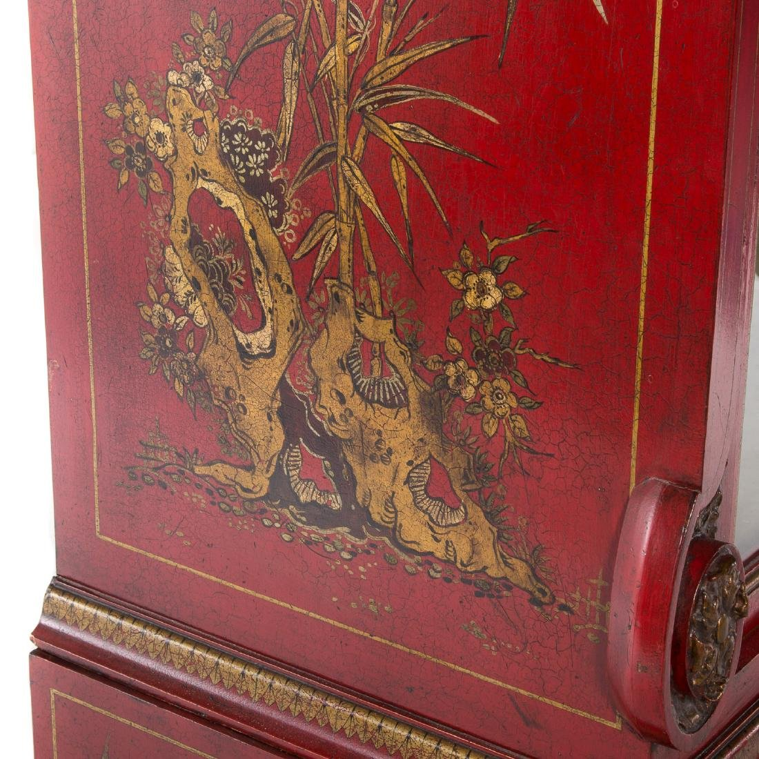 George I style Chinoiserie decorated cabinet - 4