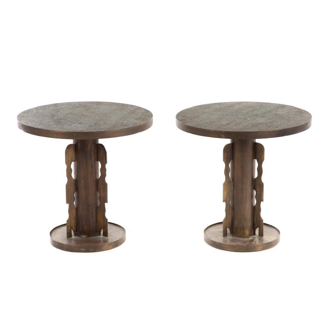 Pair Philip & Kelvin Laverne side tables - 2