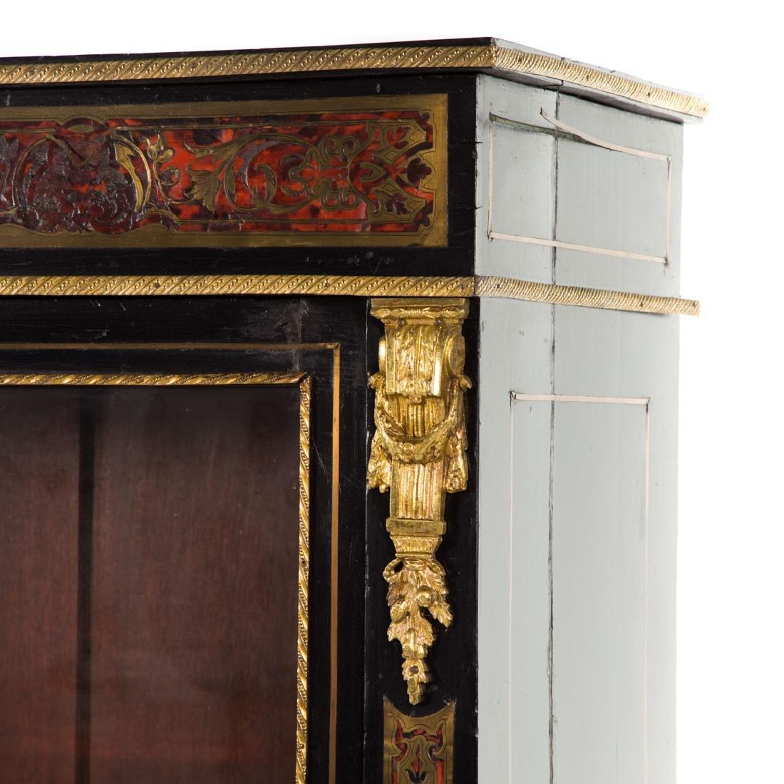 Napoleon III Louis XIV style Boulle bibliotheque - 2
