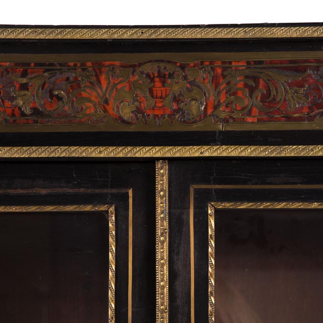 Napoleon III Louis XIV style Boulle bibliotheque - 3