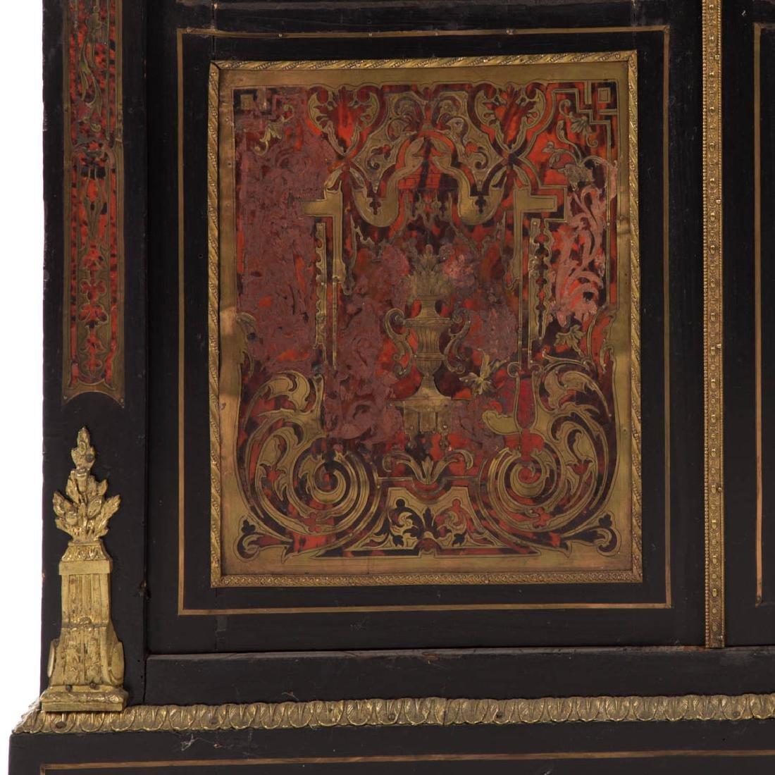 Napoleon III Louis XIV style Boulle bibliotheque - 4