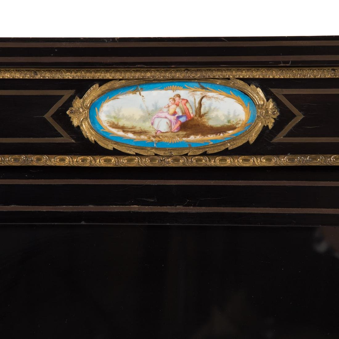 Napoleon III ebonized wood bibliotheque - 3