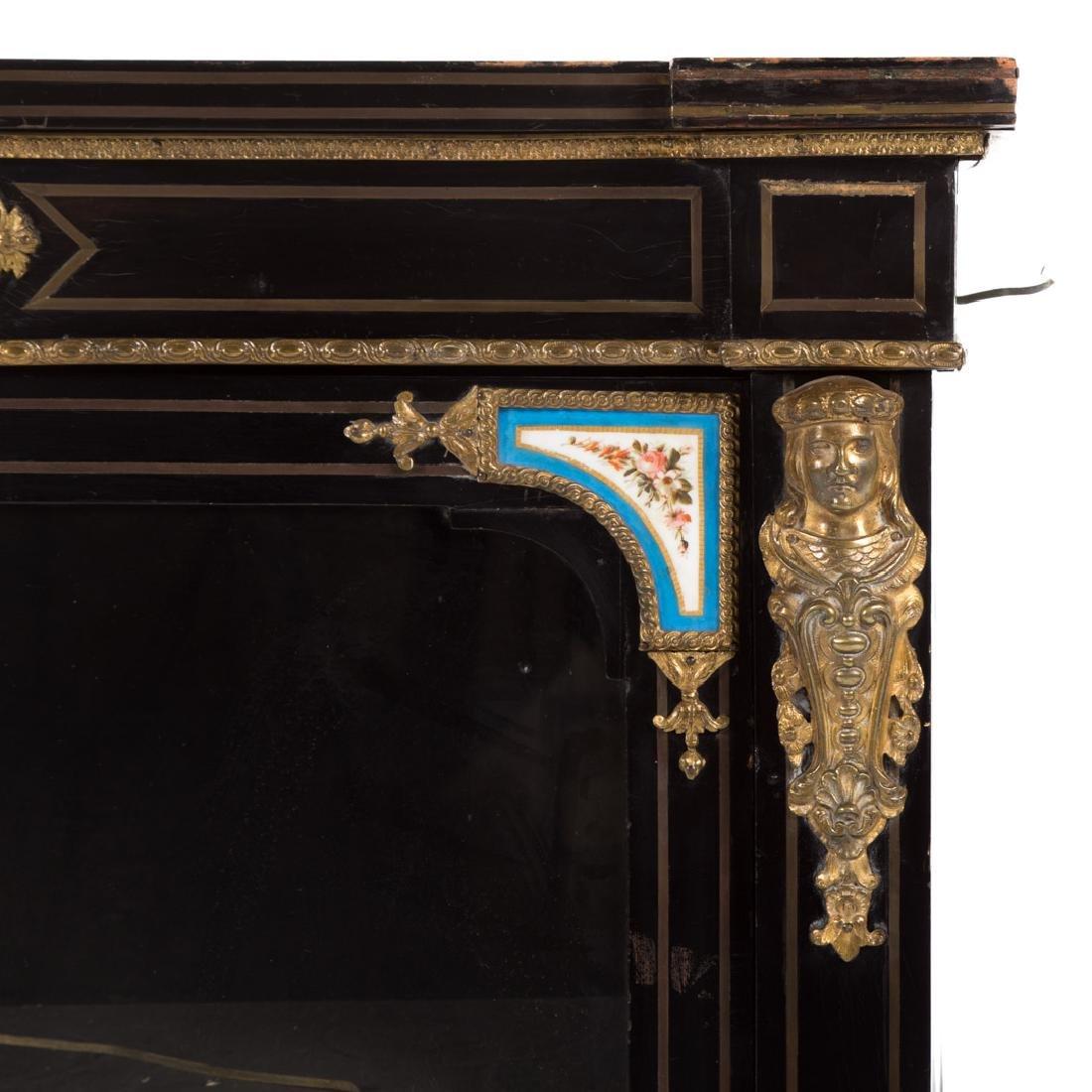 Napoleon III ebonized wood bibliotheque - 4