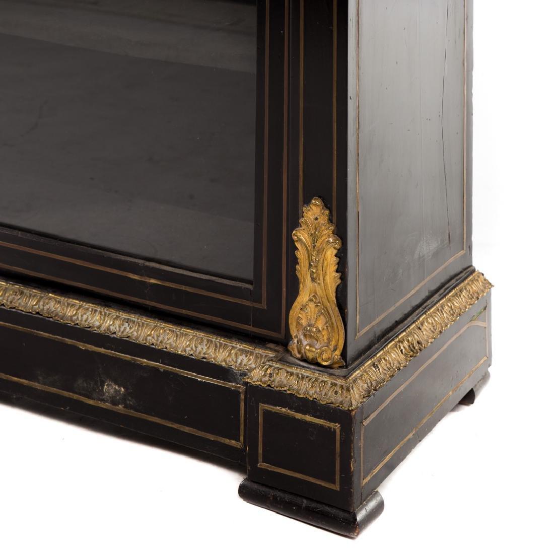 Napoleon III ebonized wood bibliotheque - 5