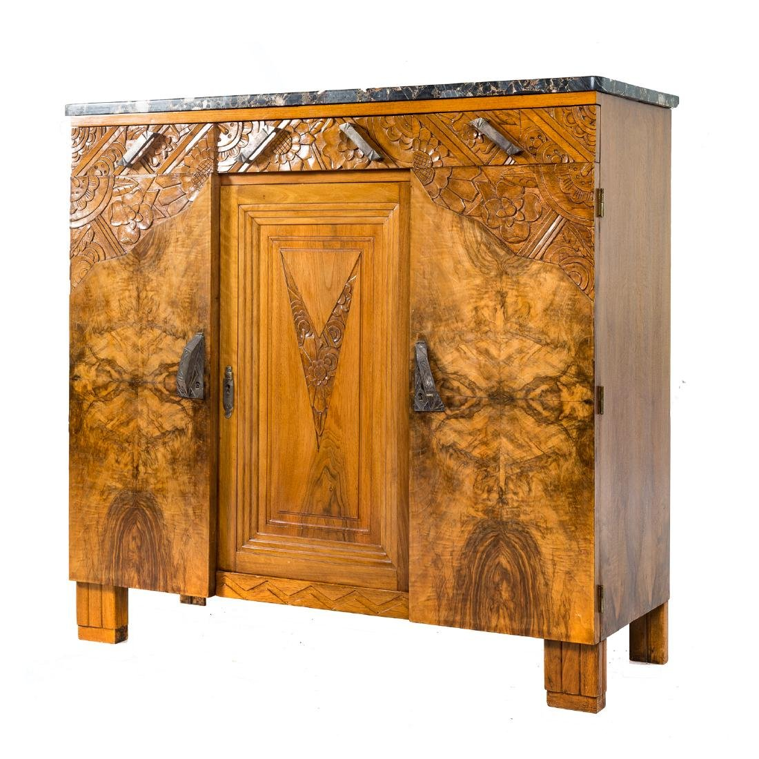 French Art Deco palissandre cabinet - 2