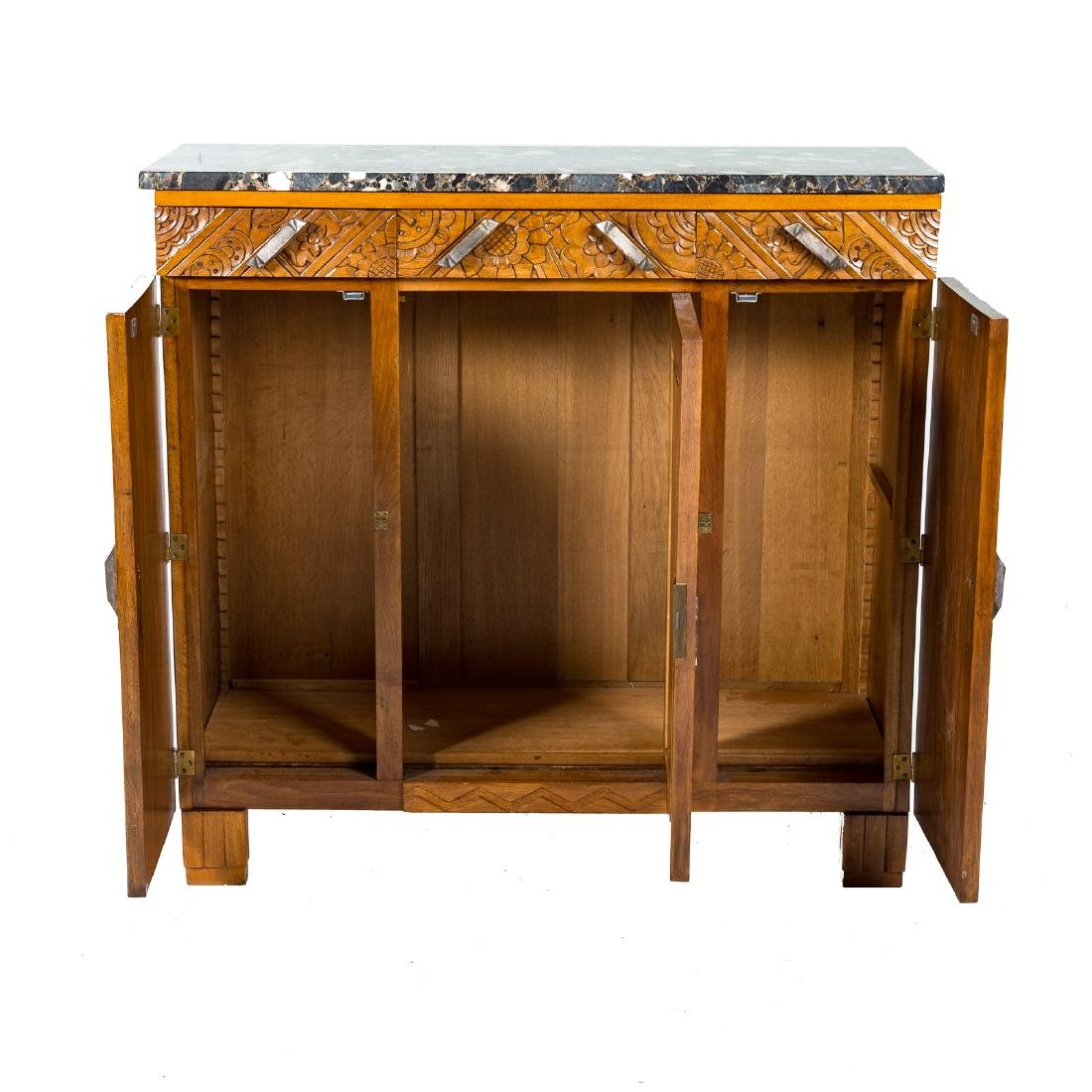 French Art Deco palissandre cabinet - 3