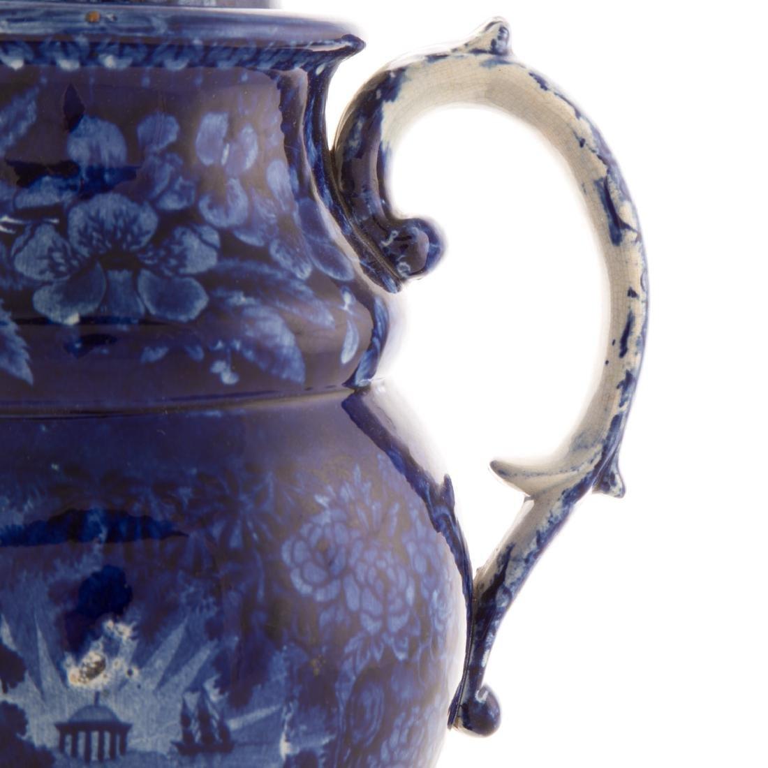 Enoch Woods Staffordshire Lafayette coffee pot - 5