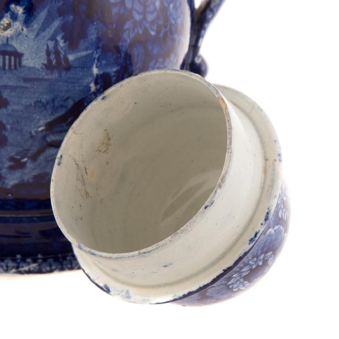 Enoch Woods Staffordshire Lafayette coffee pot - 6