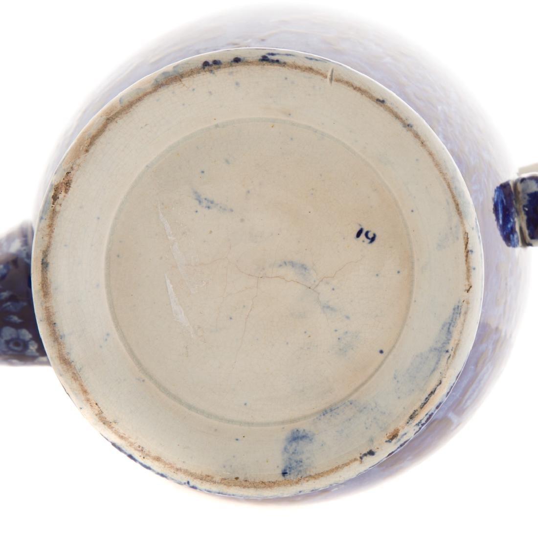Enoch Woods Staffordshire Lafayette coffee pot - 8