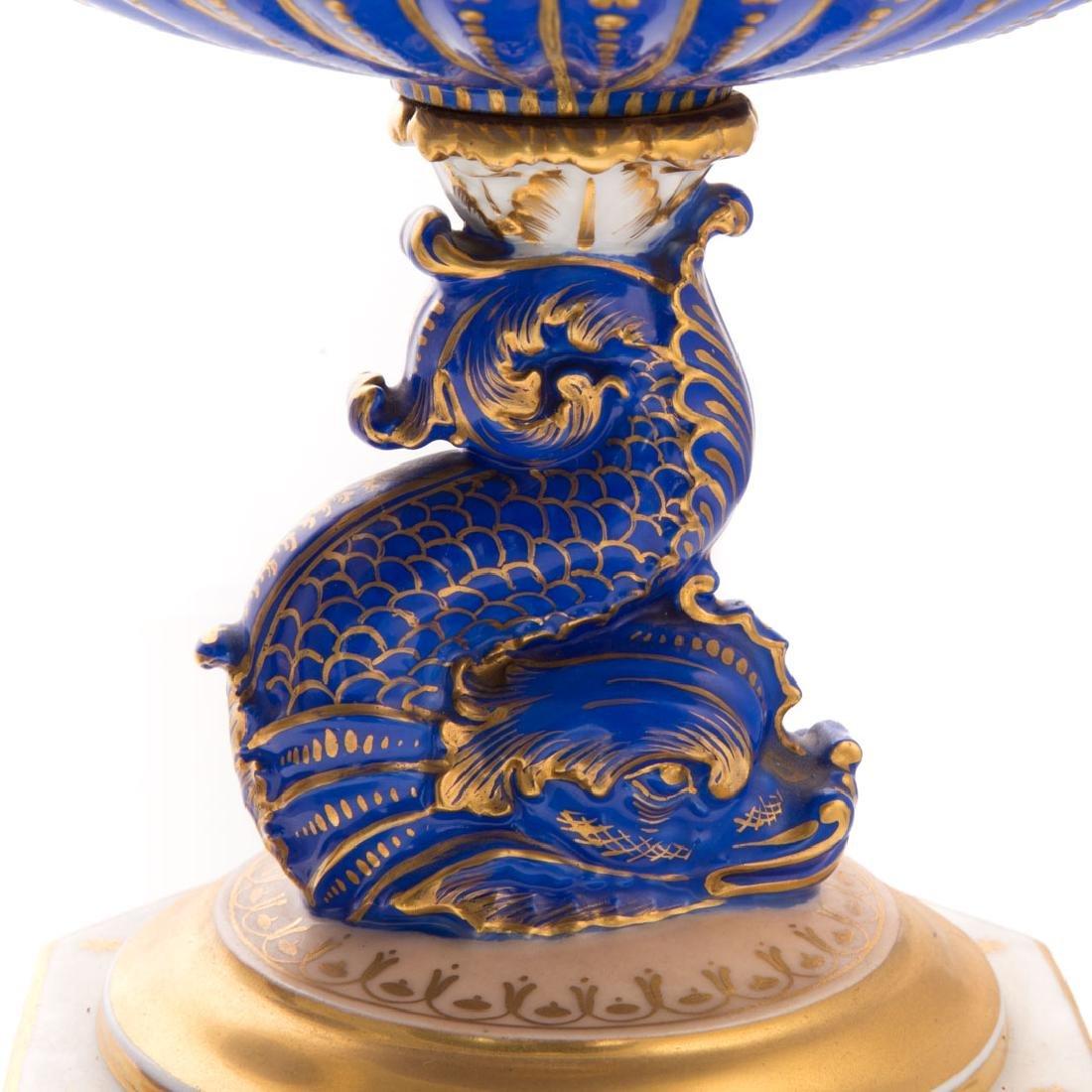 Pair Paris porcelain compotes - 4