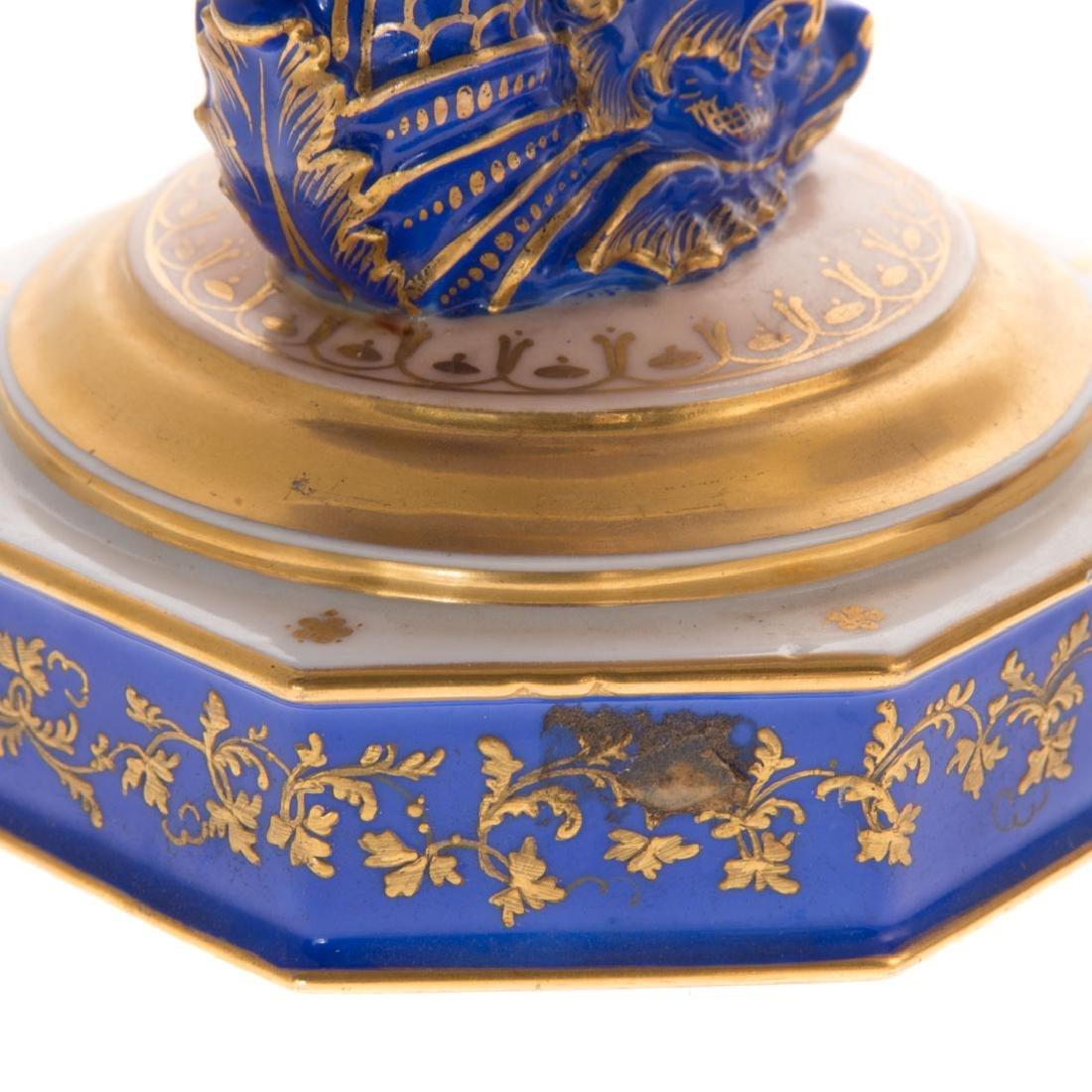 Pair Paris porcelain compotes - 6