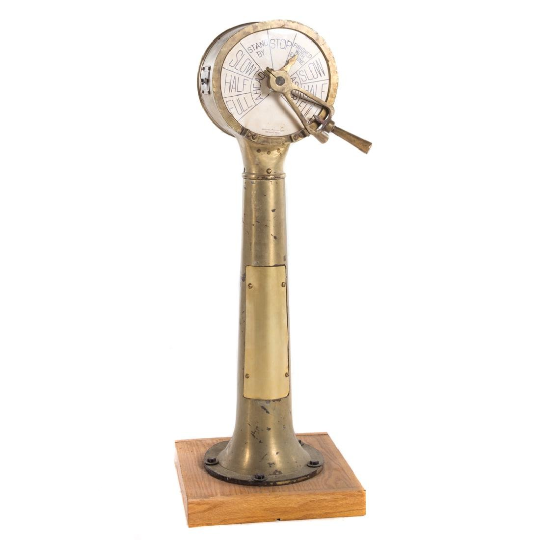 Henschel bronze engine order telegraph