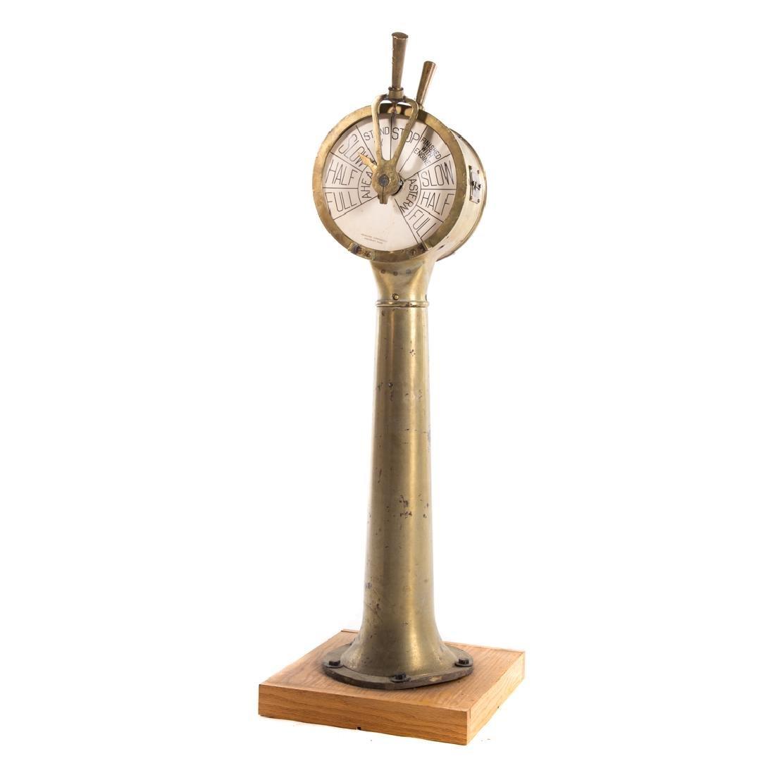 Henschel bronze engine order telegraph - 3