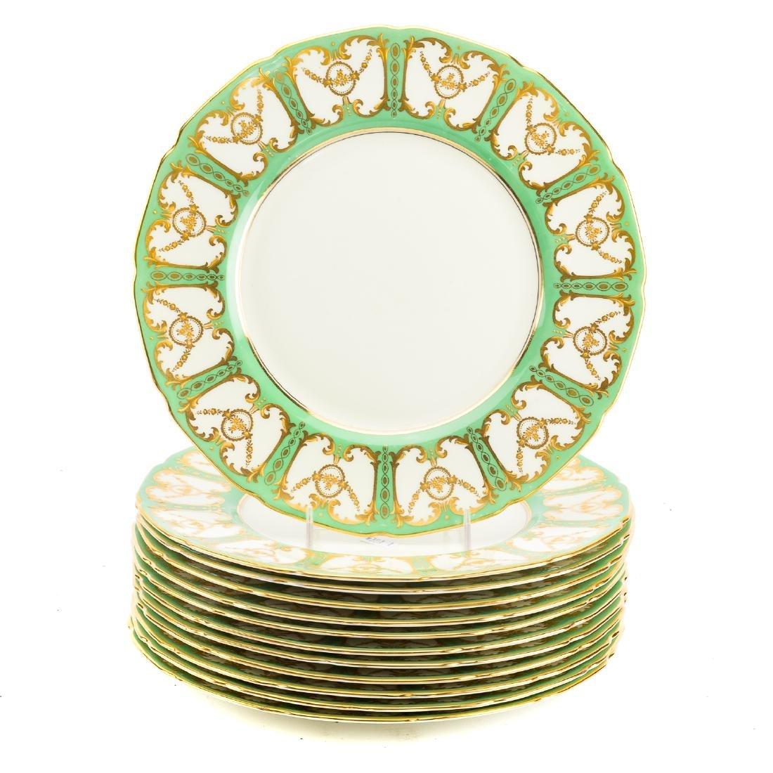 12 Royal Doulton china cabinet plates