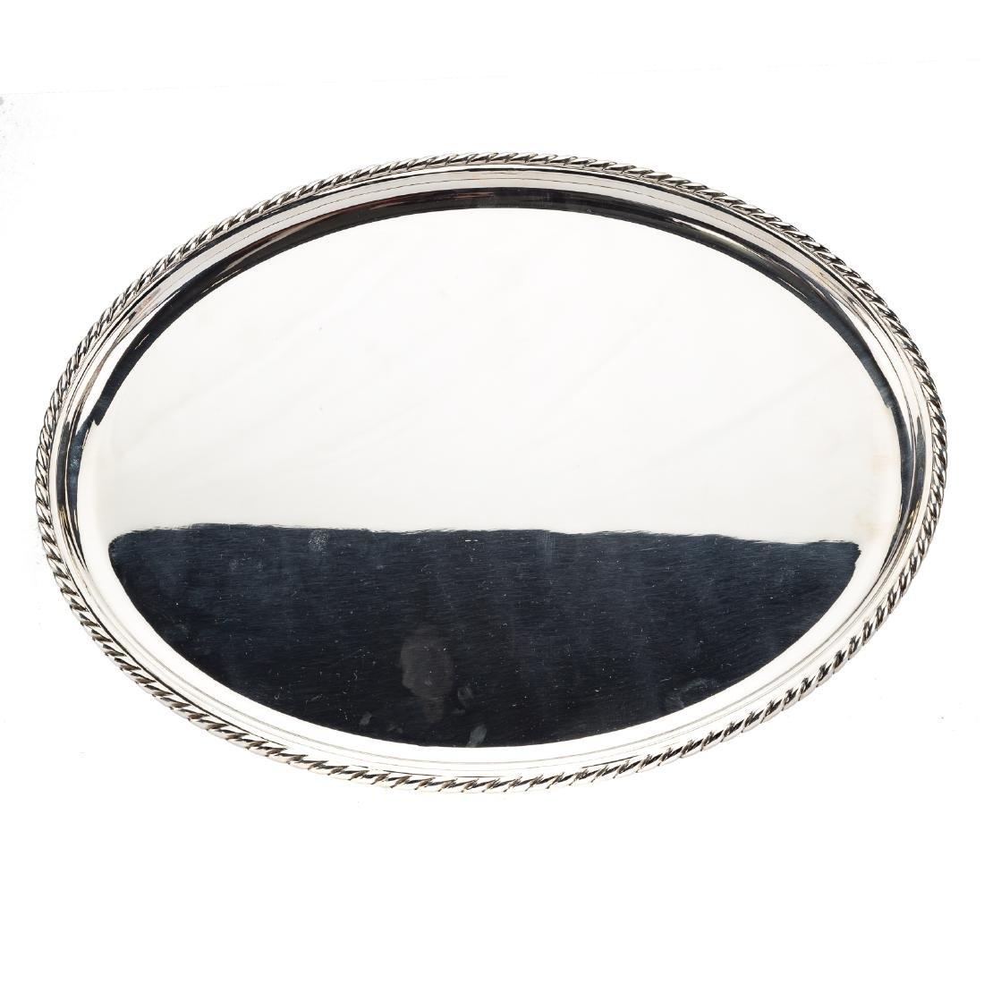Buccellati Prestigio Mario sterling oval platter