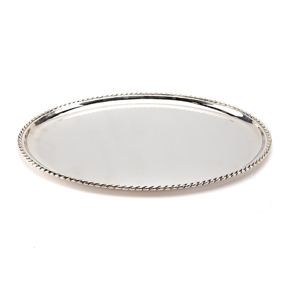 Buccellati Prestigio Mario sterling oval platter - 2