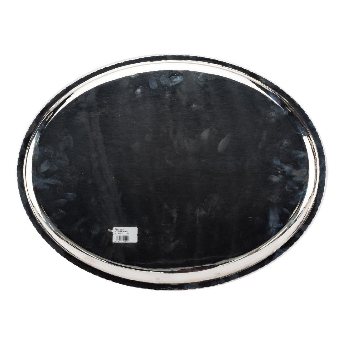 Buccellati Prestigio Mario sterling oval platter - 3