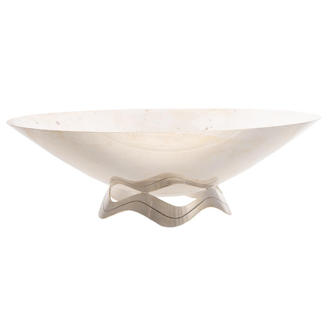 Tiffany mid-century modern sterling center bowl