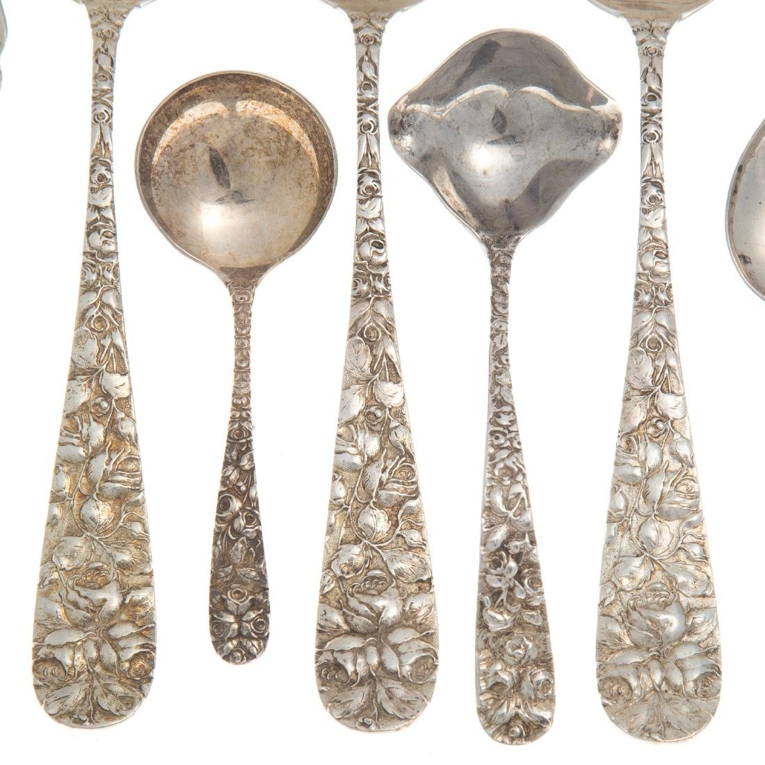 "Schofield ""Baltimore Rose"" sterling flatware (7) - 2"