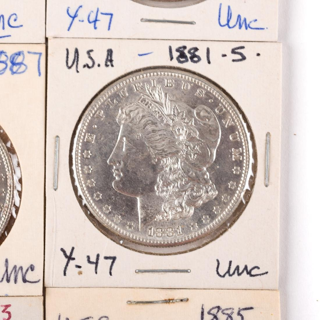 [US] Nine Uncirculated/Better Silver Dollars - 3