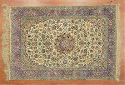 Fine Persian Ispahan rug approx 410 x 71