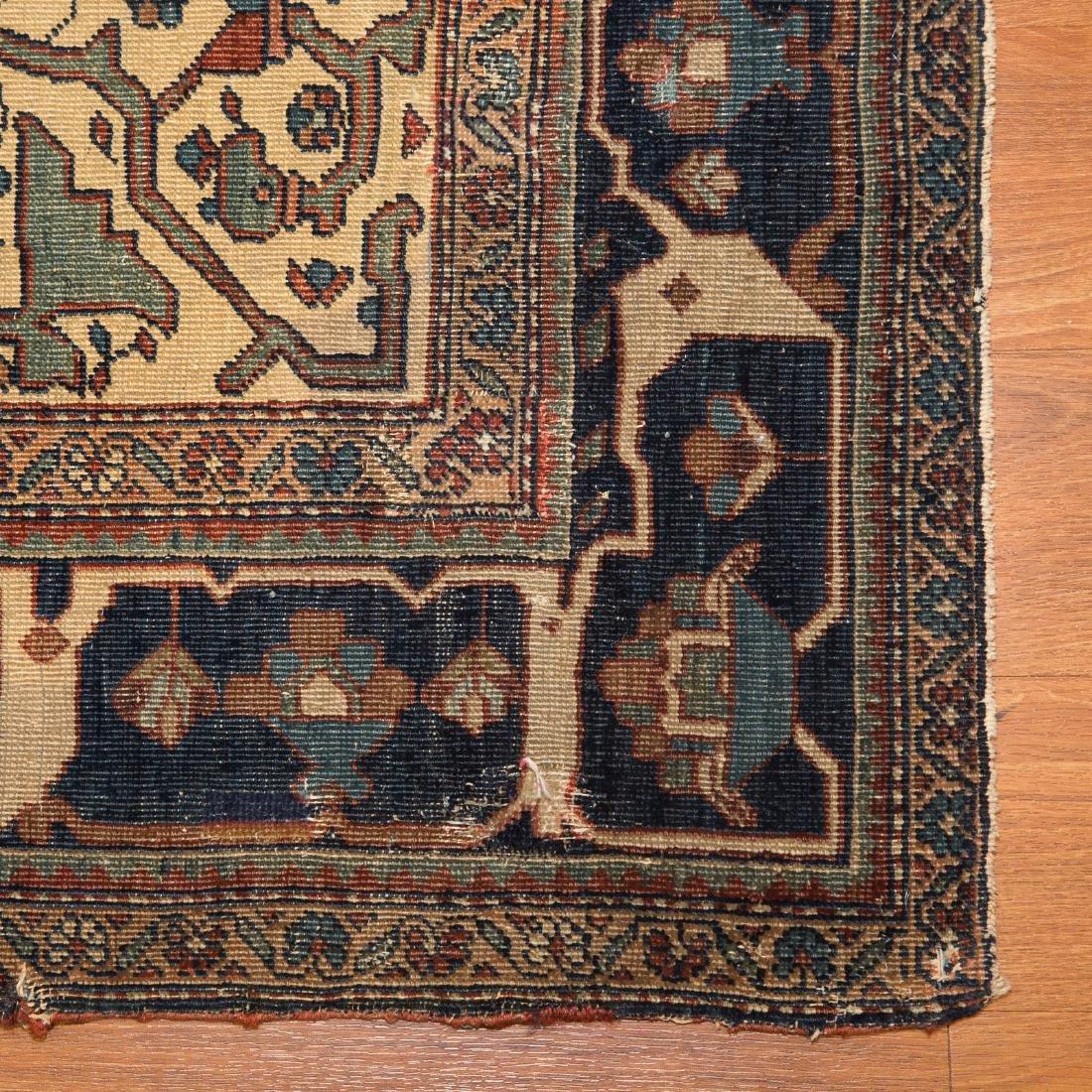Antique Feraghan Sarouk rug, approx. 4.5 x 6.8 - 2