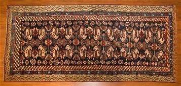 Antique Bahktiari rug, approx. 3.3 x 6.10