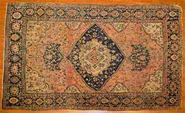Antique Feraghan Sarouk rug, approx. 4 x 6.7