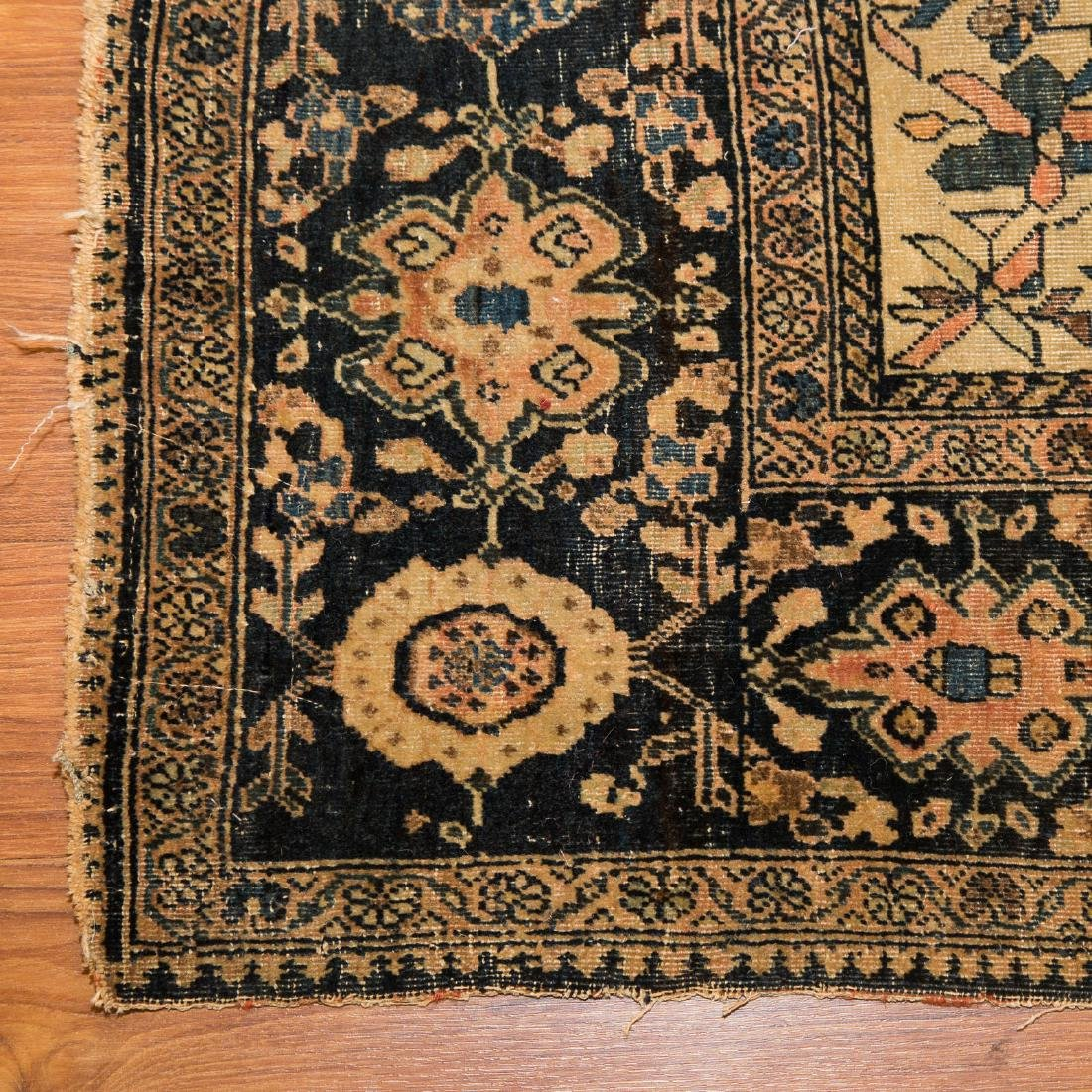 Antique Feraghan Sarouk rug, approx. 4 x 6.7 - 2